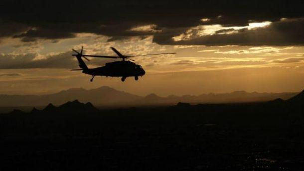 Разбился вертолет ВВС Саудовской Аравии