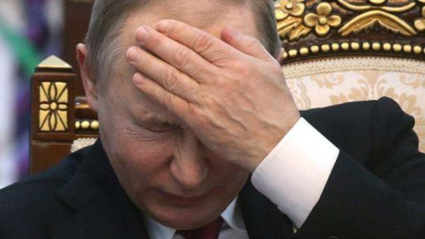 Владимир Путин зол