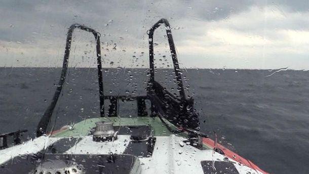 Авария российского судна в Черном море