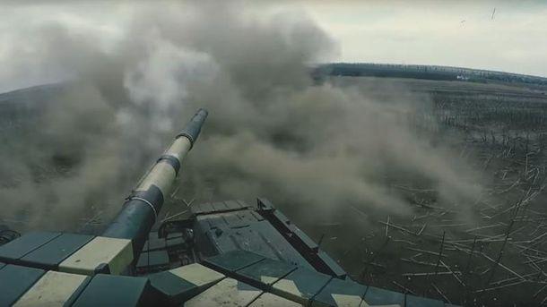 Тренировки украинских военных