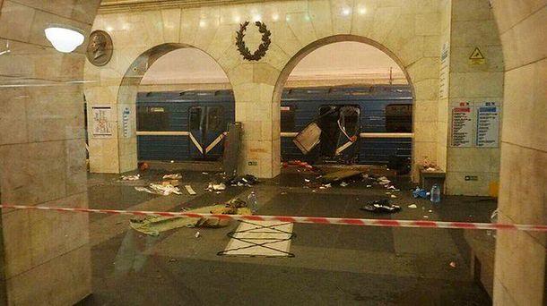 Последствия теракта в метро Санкт-Петербурга