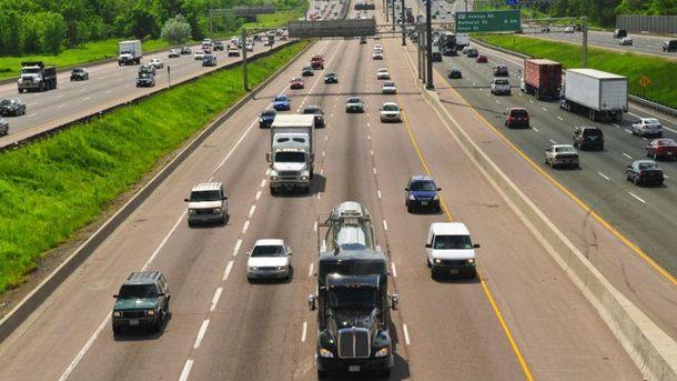 Швидкісна автомагістраль (Ілюстрація)