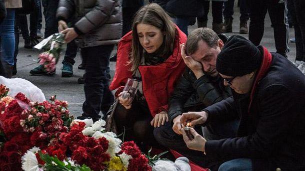 Кількість жертв від вибуху у Петербурзі знову зросла