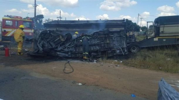 Ужасная авария в ЮАР
