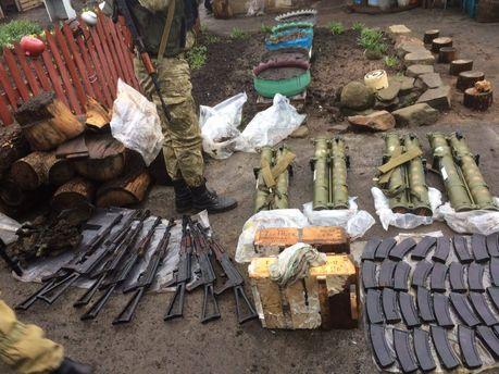 Задержали боевиков с оружием