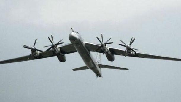 Бомбардувальники Ту-95
