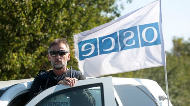 Автомобіль ОБСЄ підірвався на окупованій Луганщині