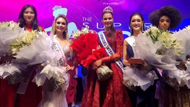 Украинка победила в международном конкурсе супермоделей