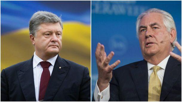 Петро Порошенко та РексТіллерсон