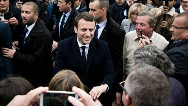 Попередні результати виборів у Франції: Макрон лідирує