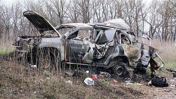 Автомобіль зі спостерігачами ОБСЄ підірвався на Луганщині