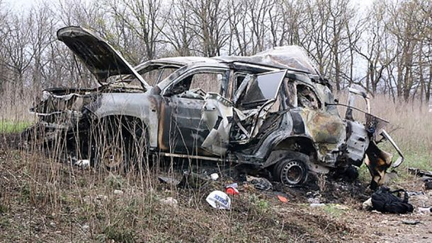 Автомобиль с наблюдателями ОБСЕ на Луганщине подорвался