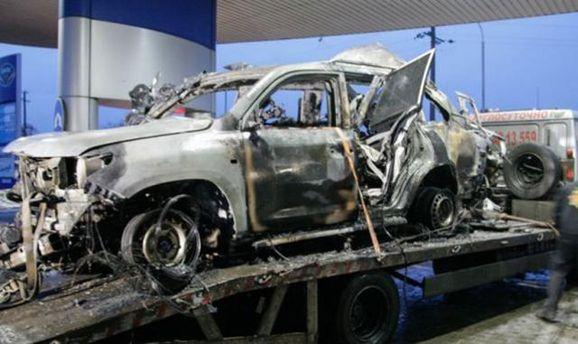 Підрив авто СММ ОБСЄ може бути справою спецслужб Росії