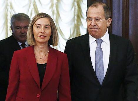 Лавров пообещал Могерини заставить боевиков выполнять