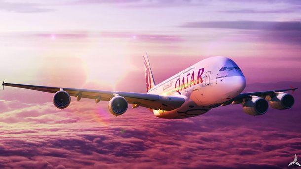 Qatar Airways будет летать из Киева