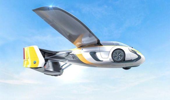 Розробники представили машину, яка літає: з'явились перші фото