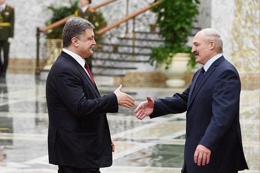 Лукашенко прибудет в Украину для встречи с Порошенко