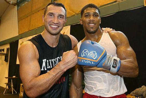 Для боя Кличко – Джошуа разработали специальный пояс чемпиона
