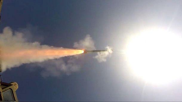 Испытания ракетного комплекса