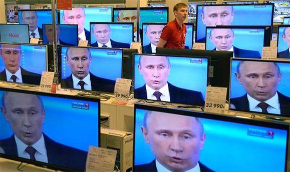 Російська пропаганда транслюється в Україні