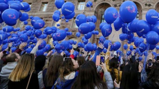 Посвящение волонтеров Евровидения