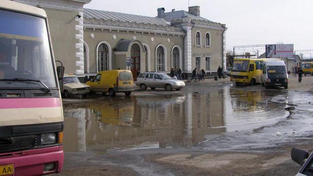 Вокзал в Дрогобыче