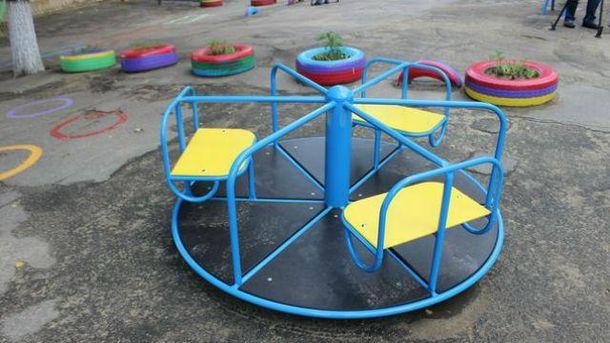 Взрыв в детском саду Киева
