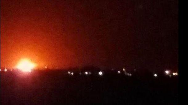 Взрыв в аэропорту Дамаска