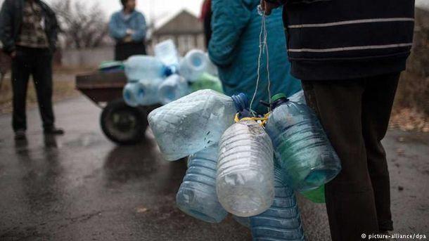 В Украине есть проблемы с водоснабжением оккупированного Донбасса