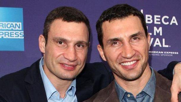 Віталій та Володимир Клички