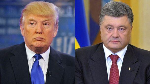 Украинская сторона сообщала о подготовке встречи Порошенко с Трампом