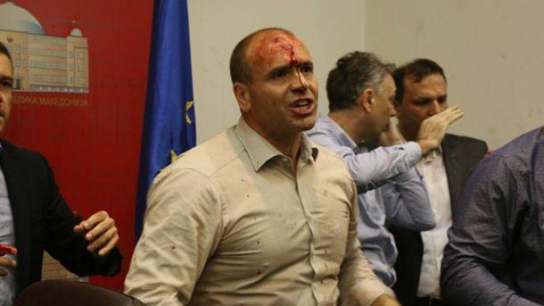Штурм парламенту в Македонії