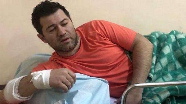 Роман Насиров в больнице