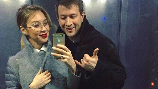Дмитро Ступка і Поліна Логунова стали батьками