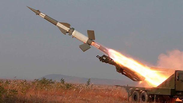 Северокорейская баллистическая ракета (иллюстрация)