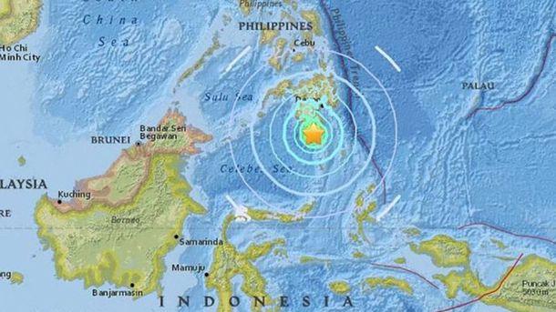Землетрус у Філіппінах