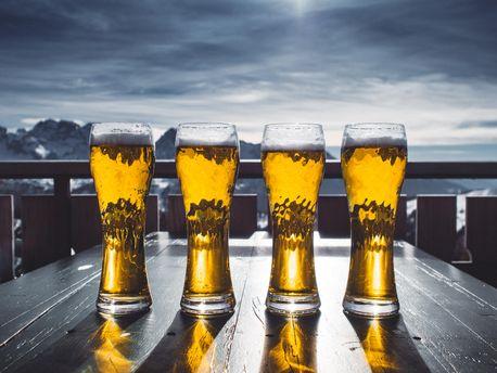 Пиво знімає біль