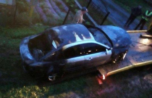 Спалили авто кандидату у міські голови