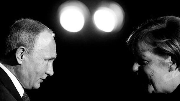 Путін зустрінеться з Меркель