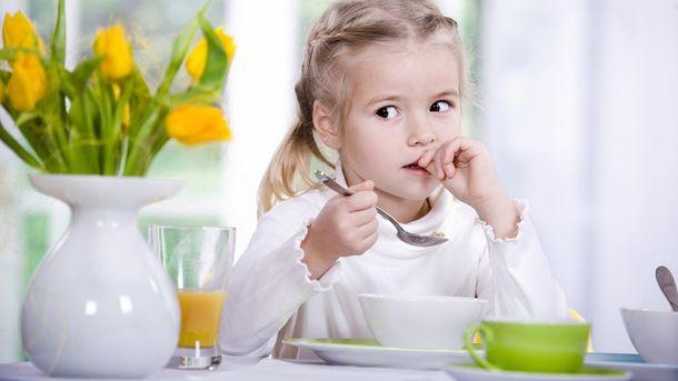 Дитячий сніданок