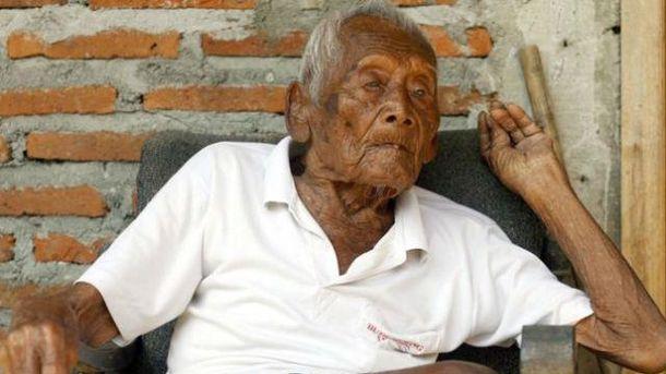 Дідусь  вважався найстарішою людиною в світі