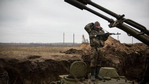 Український військовий в зоні АТО, Авдіївка