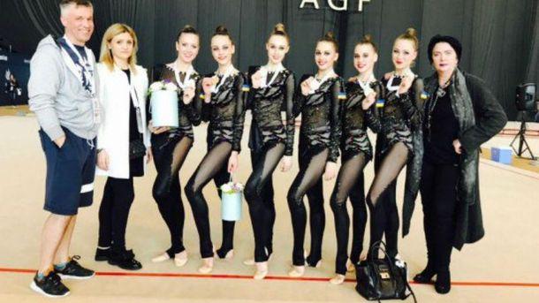 Українські гімнастки, які здобули перемогу