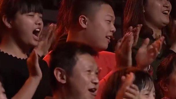 Китайским зрителям понравился номер