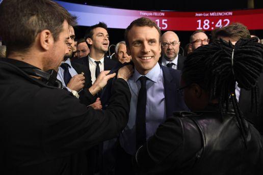 Эммануэль Макрон победил в первом туре на выборах президента Франции