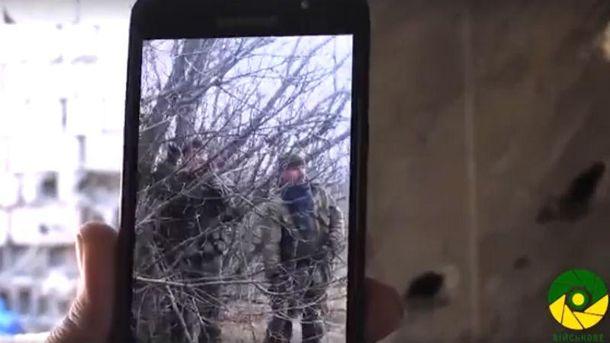 Відео з телефону ворожого розвідника