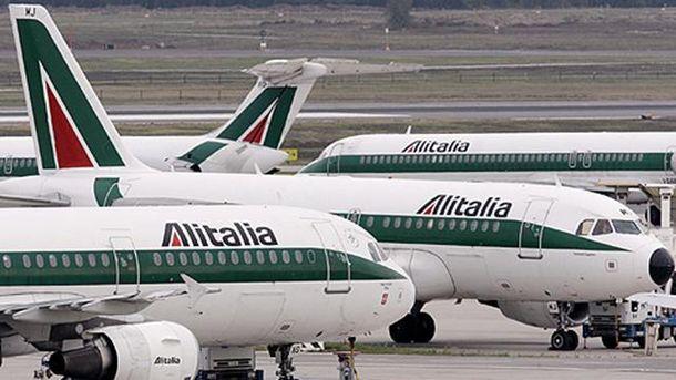 Alitalia снова летает в Киев