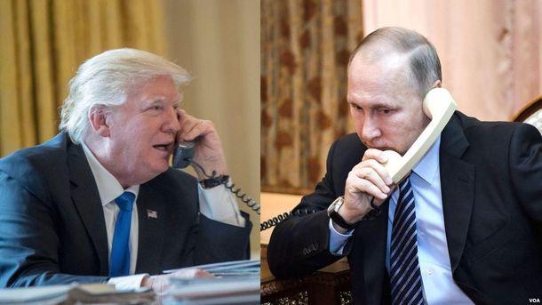 Телефонна розмова Трампа і Путіна