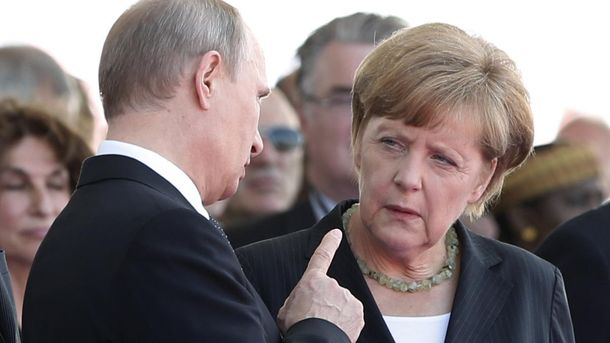 Меркель і Путін не дійшли згоди під час зустрічі в Сочі