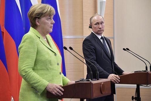 Про що домовилися Меркель і Путін?